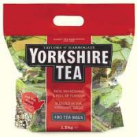 Yorkshire Tea Soft Water Tea Bags Pack of 480 1127