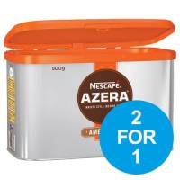Nescafe Azera Instant Americano 500g Ref 12284221 Buy 2 get Free YES Sea Salt Dark Choc Pk24 Mar 2020