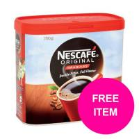 Nescafe Original Coffee Granules Tin 750g Ref 12315566 Buy 2 Get Kit Kat Senses Chocs 200g Jan-Mar 2020