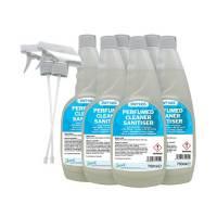 2Work Spray Sanitiser 750ml Pk6