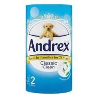 4480115 Andrex Toilet Roll Classic White Pack of 24 KC07133