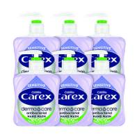 Carex Sensitive 250ml Pack of 6