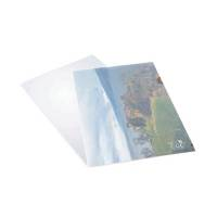 Rapesco Eco Cut Flush Folders A4 Clear Pack of 100 1105