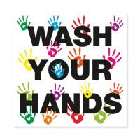 Wash Your Hands 200X200 Repos Vinyl