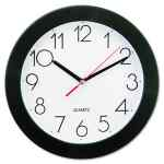 Image for BOLD ROUND WALL CLOCK, 9.75