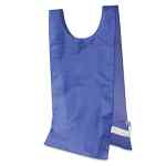 Image for Heavyweight Pinnies, Nylon, One Size, Blue, 12/box