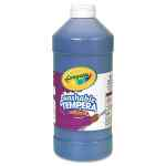 Image for Artista Ii Washable Tempera Paint, Blue, 32 Oz