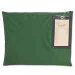 Image for Cash Transit Sack, Nylon, 14 X 11, Dark Green