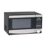 Image for 0.7 Cu.ft Capacity Microwave Oven, 700 Watts, Stainless Steel And Black