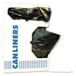Image for LOW-DENSITY WASTE CAN LINERS, 10 GAL, 0.35 MIL, 24