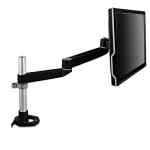 Image for DUAL-SWIVEL MONITOR ARM, 4.5W X 19.5D X 18.5H, BLACK/GRAY