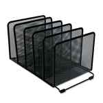 Image for DELUXE MESH STACKING SORTER, 5 SECTIONS, LETTER TO LEGAL SIZE FILES, 14.63