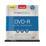 Image for Dvd-R Discs, 4.7gb, 16x, Spindle, Gold, 100/pack