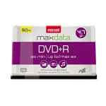 Image for Dvd+r Discs, 4.7gb, 16x, Spindle, Silver, 50/pack