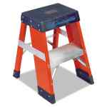 Image for FY8000 SERIES INDUSTRIAL FIBERGLASS STEP STAND FY8002, 2 FT WORKING HEIGHT, 300 LBS CAPACITY, 2 STEP,