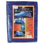 Image for Multiple Use Tarpaulin, Polyethylene, 10 Ft X 12 Ft, Blue