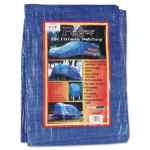 Image for Multiple Use Tarpaulin, Polyethylene, 8 Ft X 10 Ft, Blue