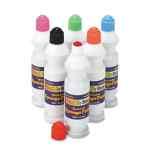Image for Sponge Paint Set, 6 Assorted Colors, 2.2 Oz, 6/set