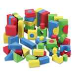 Image for BLOCKS, ASSORTED COLORS, 68/PACK