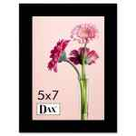 Image for Solid Wood Photo/picture Frame, Easel Back, 5 X 7, Black