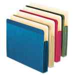 Image for 100% RECYCLED COLORED FILE POCKET, 3.5