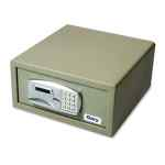 Image for LARGE PERSONAL SAFE, 1.2 CU FT, 15.75W X 16.63D X 7.56H, BLACK