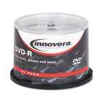 Image for Dvd-R Discs, 4.7gb, 16x, Spindle, Silver, 50/pack