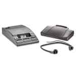 Image for 720-T Desktop Analog Mini Cassette Transcriber Dictation System W/foot Control