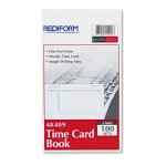 Image for Employee Time Card, Weekly, 4-1/4 X 7, 100/pad