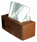 Image for Fellowes Shredder Waste Bag Polythene 98L (Pack of 50) 36054