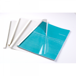 Image for Fellowes 6mm Thermal Binding Covers PK100