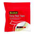 Image for 3M Scotch Easy Tear Clear Everyday Tape Single Roll GT500077224