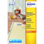 Image for Avery Removable Labels L4730REV-25