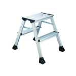 Image for 2Work Mini 2-Step Ladder Metal 460mm L2