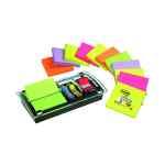 Image for Post-it Designer Combi Note Dispenser Black DS100-VP