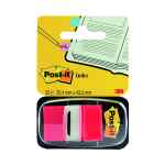 Image for 3M Post-it Index Tab 25mm Red with Dispenser 680-1