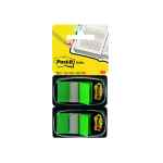 Image for 100 x Post-it Index Tabs Green (Includes twin Post-it note dispenser) 680-G2EU