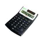 Image for Aurora Black /White 12-Digit Desk Calculator EC505