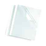 Image for Fellowes Thermal Binding Covers 3mm White (Pack of 100) 53152
