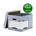 Bankers Box Storage Box Grey Standard (Pack of 10) 00810-FF