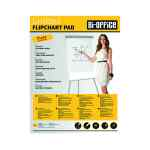 Image for Bi-Office Gridded Flipchart Pad A1 40 Sheet (Pack of 5) FL012301