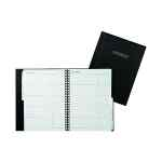 Image for Collins Wirebound Business Address Book A5 Black BA5