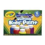 Image for Crayola Washable Kids Paint Colours (Pack of 36) 54-1204