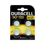 Image for Duracell 2025 Lithium Coin Battery (Pack of 4) ECR2035