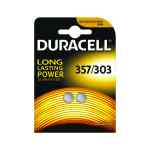 Image for Duracell 1.5V Silver Oxide Button Battery (Pack of 2) 75053932
