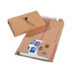 Image for 20 x Brown 251x165x60mm Mailing Box (Self-adhesive strip for sealing) 11208
