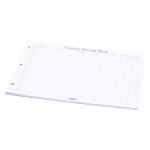 Image for Concord Visitor Book Refill A4 Landscape (Pack of 50) 85801/CD14P