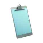 Image for Lloyd Aluminium Clipboard Foolscap Grey BF64S