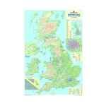 Image for Map Marketing British Isles Motoring Laminated Map BIM