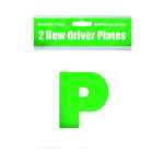 Image for 2 Magnetic P Plates (Pack of 10) C399